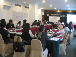 Project Design Training CWS Solo